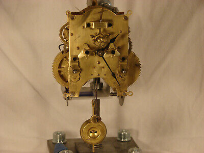 Ansonia Open Escapement #5 1/2  Clock Movement Cleaned and Serviced