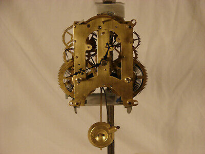 Antique Ansonia #5 1/2 Clock Movement Cleaned and Serviced