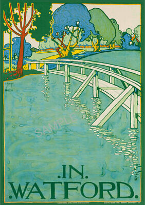Vintage St Valery sur Somme French Tourism Poster A3//A4 Print