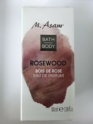 SALE** M. ASAM BATH&BODY ROSEWOOD Eau de Parfum 100ml
