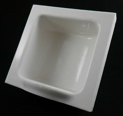 Antique Vintage Tile-In White Tumbler Holder 1920's Bathroom Specialty Co. (#3)