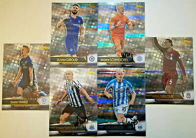 Match Attax Ultimate 2018/19 Rare Artist Signed Sketch Cards pick choose