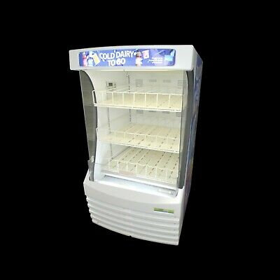 FrigoGlass MiraCool BZ13-1 Refrigerated Open-Air Milk/Dairy/Beverage Display