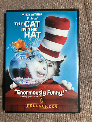 Dr. Seuss The Cat in the Hat (DVD, 2004, SINGLE Widescreen Edition)