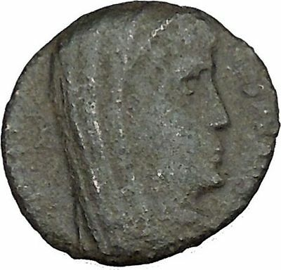 CONSTANTINE I the GREAT Heaven Chariot  Ancient Roman Coin Deification  i37492
