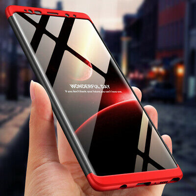 Bakeey 3 in 1 Double Dip 360 Hard PC Protective Case for Samsung Galaxy Note 9