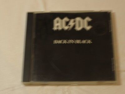AC Dc Back in Black CD 1980 Atco Records BMG Musica Hells Bells Shoot To Thrill