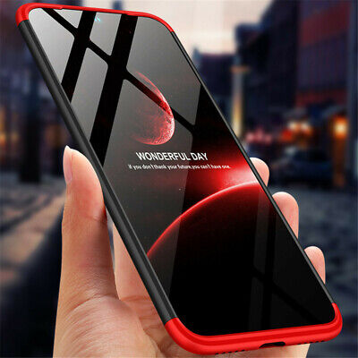 Bakeey 3 in 1 Double Dip Full Body Ultra Thin Shockproof Hard PC Protective Case