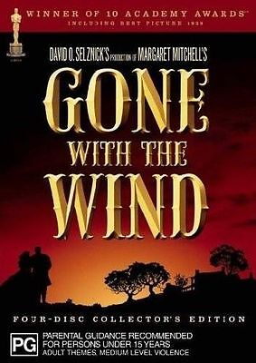 Gone With The Wind 4 Disc Collector's Edition DVD