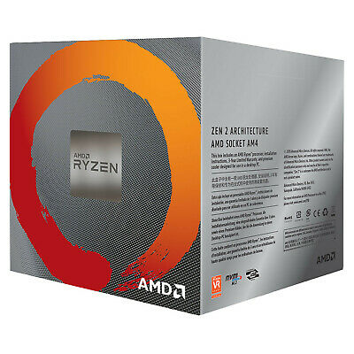 AMD Ryzen 7 3700X CPU 8 Core 16 Thread 32 MB Cache 3.6 GHz AM4 Desktop Processor