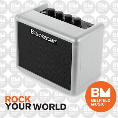 Blackstar FLY 3 Mini Guitar Amp Battery Powered Limited Edition Silver