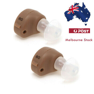 1PCS Invisible Mini In Ear Sound Amplifier Adjustable Tone Hearing Aids Aid