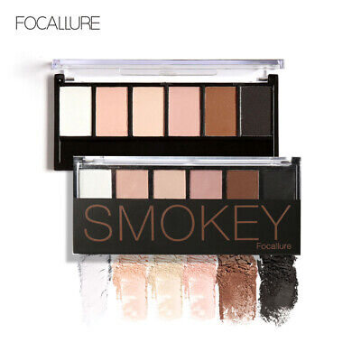 Nude Eyeshadow Palette 6 Color Naked Matte Pearl Eye Shadows Waterproof Natural