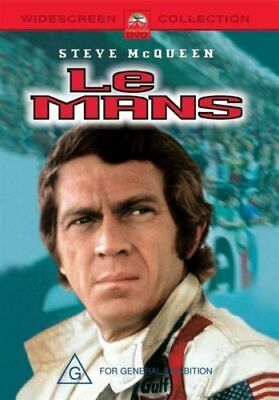 Steve Mcqueen - Le Mans Dvd New And Sealed Region 4