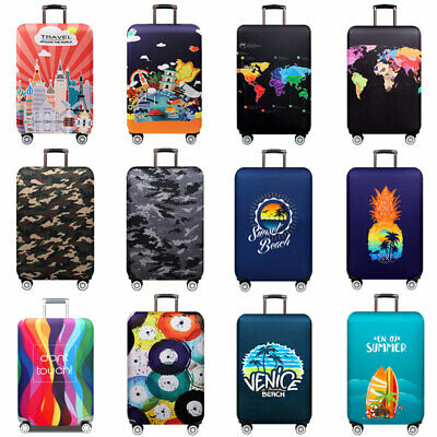 18 ~ 32 inch Trolley Luggage Cover Elastic Suitcase Dust Protector Anti-scratch