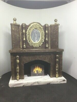 Dolls House Miniatures 1//12th White Resin Arched Fireplace DF702 New