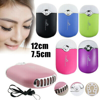 USB Mini Fan Air Conditioning Blower for Eyelash Extension Glue Quick Dry Tool