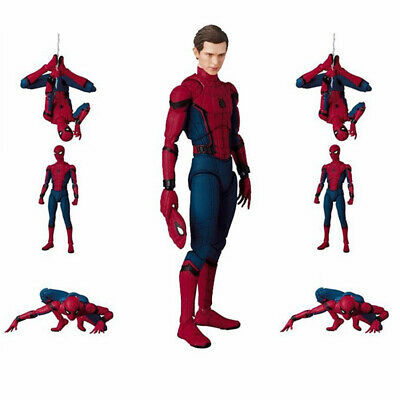 """6"""" Spider-Man Homecoming Action Figure Mafex Medicom Toy Gift Collection"""