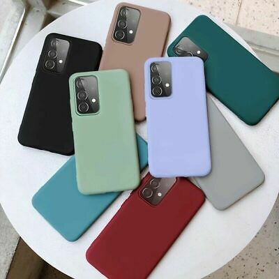 For Samsung Galaxy A70 A50 40 A30 Slim Soft Silicone TPU Frosted Back Case Cover