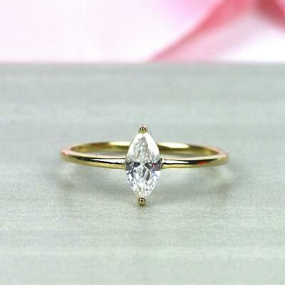 30659fc98d4cb 1.3MM DAINTY DIAMOND Ring.Thin Simple Minimalist Stackable 14K Gold ...