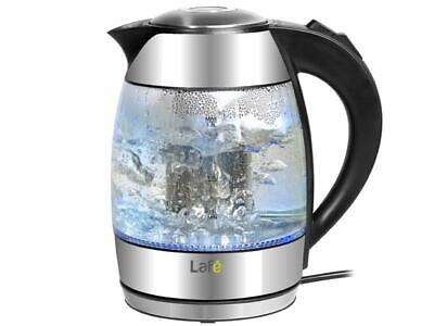 Lafe CEG006- Glass Kettle with removable Infuser- 2200, 1.8L