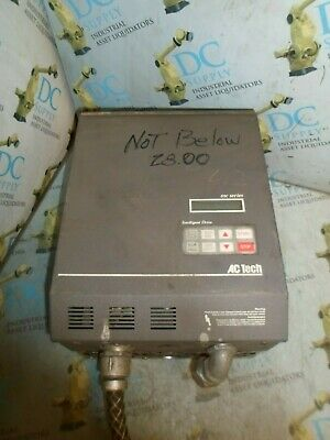 Ac Technology M343C0B Mc Ser 30 Hp 22 Kw 480 V 3 Ph 52 A Intelligent Drive