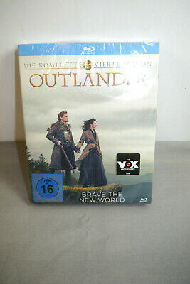 Outlander the Complete Fourth Season Blu-Ray Disc New/Original Package (WR3)
