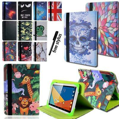 "Leather Rotating Stand Cover Case For TESCO Hudl 2 8.3"" / Windows Connect 7/8/10"