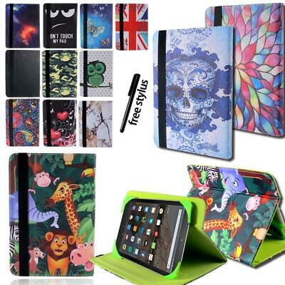 "Flip Leather Rotating Stand Cover Case For amazon Kindle Fire 7"" HD8 Tablet"