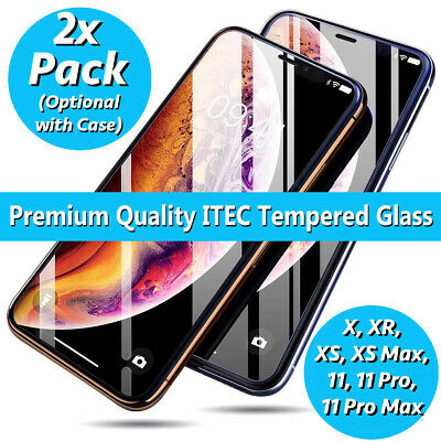 Gorilla Tempered Glass Screen Protector for New iPhone XS Max XR XS X