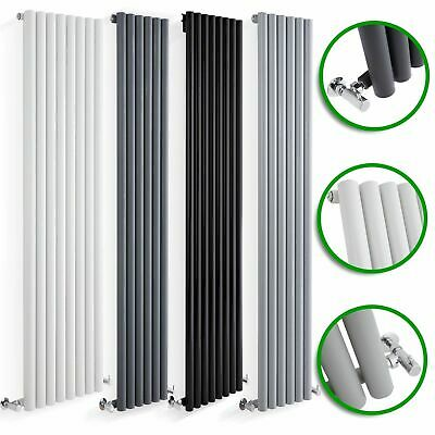 Vertical Designer Radiators Round Column Panels Tall Upright Central Heating UK