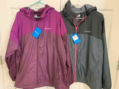 dd37e7847 WOMENS PLUS SIZE 3X Columbia SUSTINA SPRINGS LONG LINED WINDBREAKER ...