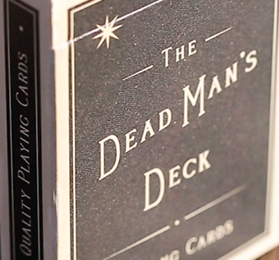 Limited Edition The Dead Man's Deck Playing Cards - LIMITED!!