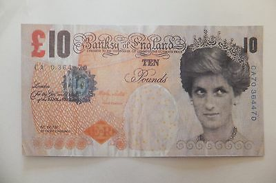 Banksy tenner, Notting hill Carnival 2004 to Barely Legal, Genuine Dismaland WSM