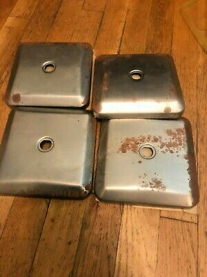 Vintage Northwestern 60 vending gumball machine lid top lot of 4