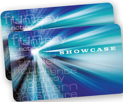 Showcase Cinema ticket - Sundays Only - Sale Price - Fast email delivery!