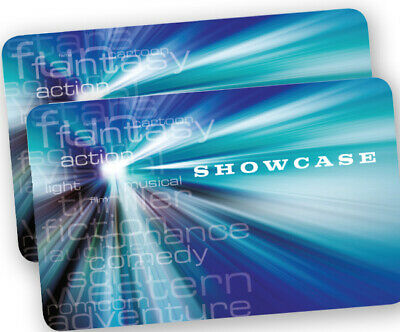 2x Showcase standard Cinema tickets - Sundays Only - fast email delivey