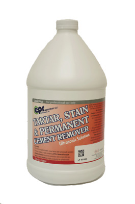 House Brand IC230 Tartar Stain & Permanent Cement Remover Liquid 1 Gallon Bottle