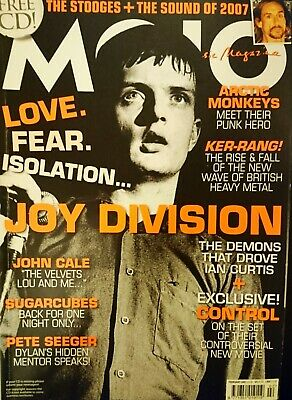 Mojo Magazine #159 Feb 2007 + Cd! Joy Division Arctic Monkeys Ex Cond