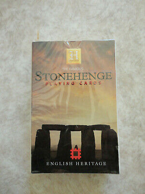 The Famous Stonehenge (1998) Sealed Pack of Playing Cards (Brand New)