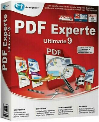 ⭐ Avanquest Expert PDF 9 Ultimate | Windows PC ⭐Link Download ⭐