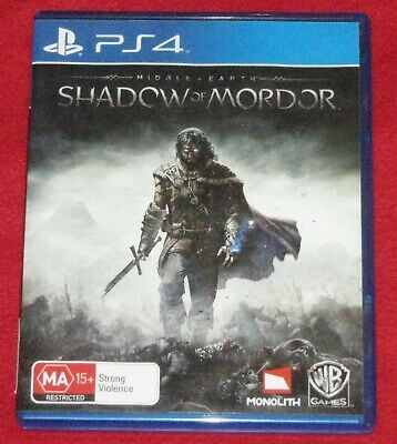 Middle Earth SHADOW OF MORDOR for Playstation 4 ~ Fast & Free Post ~   LoTR PS4