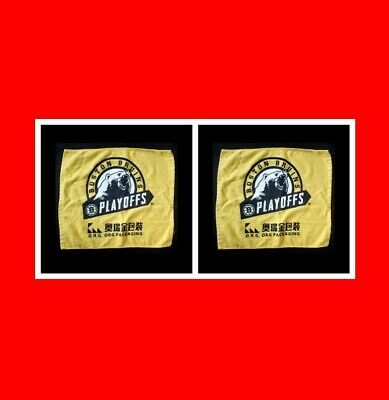☆2 Boston Bruins Playoff Stanley Cup Final Rally Towels Game 7 Vs St.louis 2019!