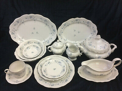 Johann Haviland Blue Garland Pattern China Bavaria Germany