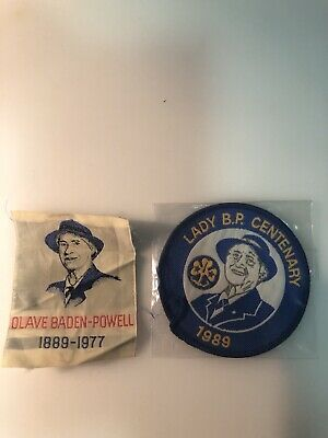 Girl Guides Lady Olave Baden Powell Patches
