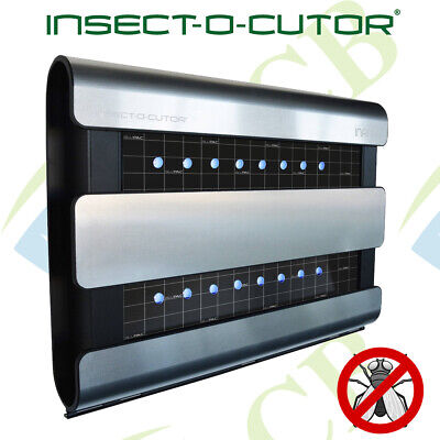 Insect trap Flykiller with UV LED Strips and Glueboard Pest Remover Control