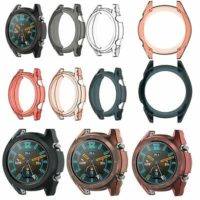 TPU Protective Body Case Housing Shell Frame Bumper For Huawei Watch GT 46mm New