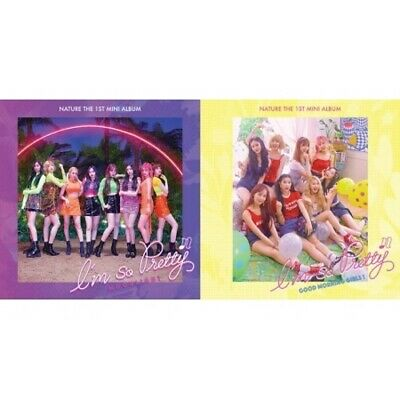 Nature-[I'm So Pretty]1st Mini Album 2 Ver SET CD+Poster/On+PhotoBook+Card K-POP