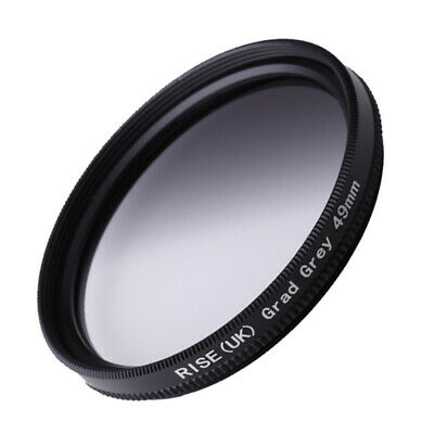 49MM Graduated Grey Graduated Neutral Density ND4 Filter 49mm Round Screw Mount
