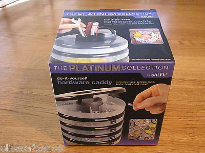 Platinum collection shift do it yourself hardware caddy with nails screws nuts